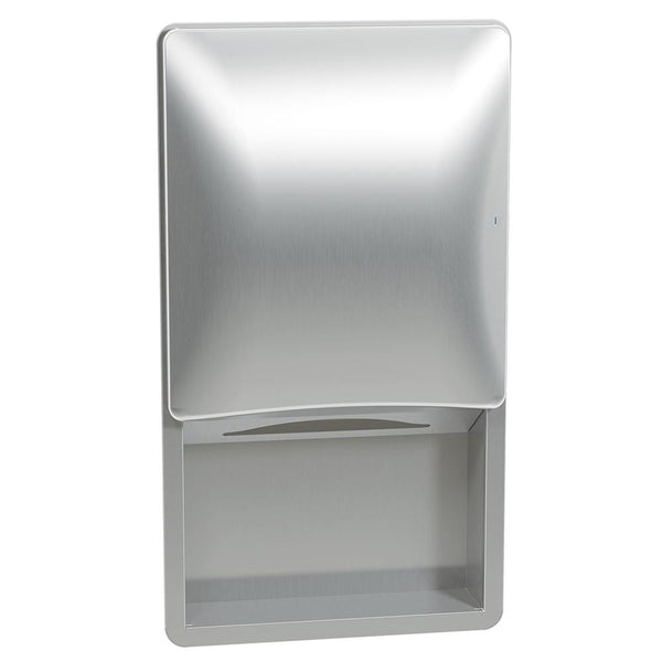 Bradley 2A02-0000 Diplomat Paper Towel Dispenser Sensor Activated Recessed - Satin