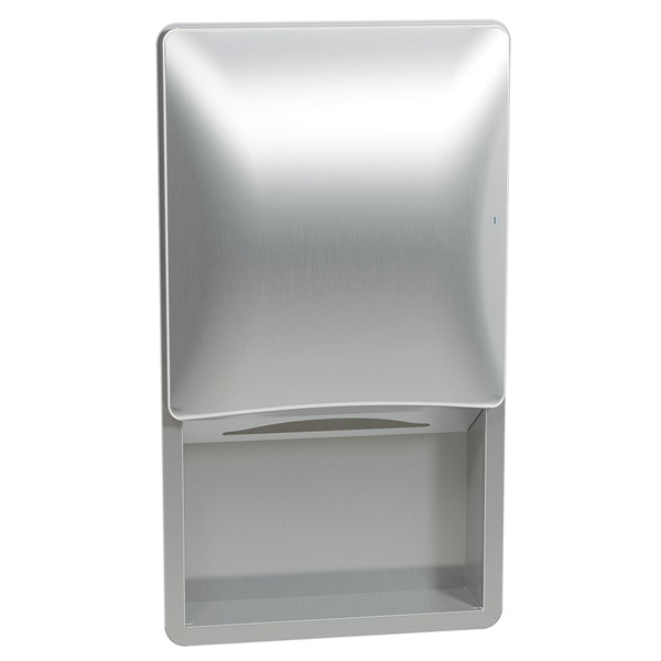 Bradley 2A09-1100 Diplomat Paper Towel Cabinet Surface Mounted - Satin