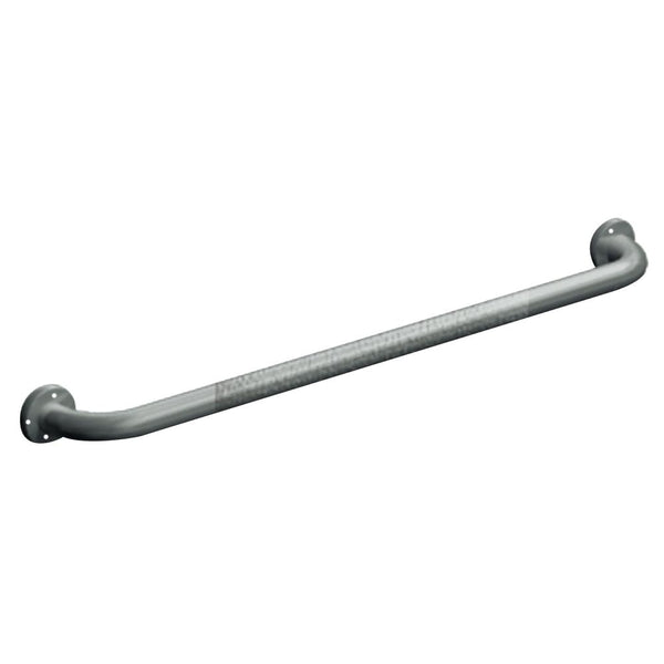 "ASI 3501-18 Grab Bar Straight Exposed Flange 18"" - Satin"