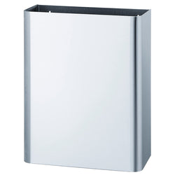 Bradley 356-3500 Waste Receptacle w/ Hinged Cover 16.5 Gal. Surface Mounted - Satin