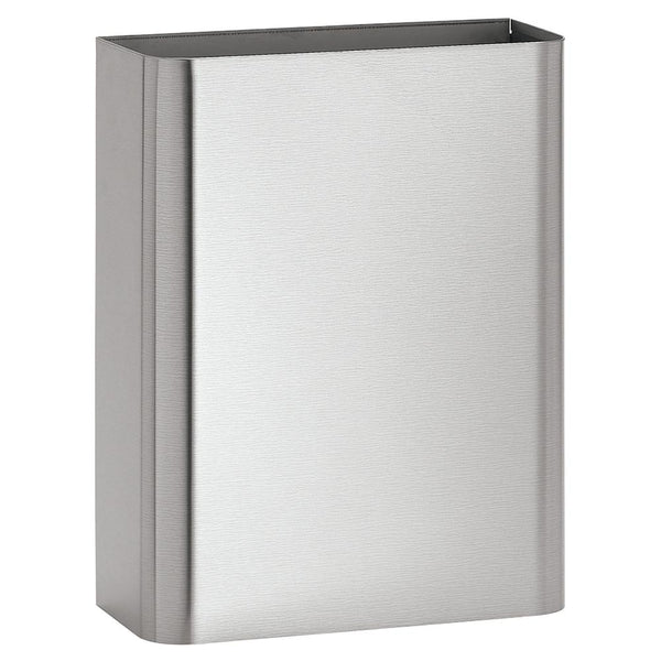 Bradley 357-0000 Waste Receptacle 6.5 Gal. Surface Mounted - Satin - Prestige Distribution