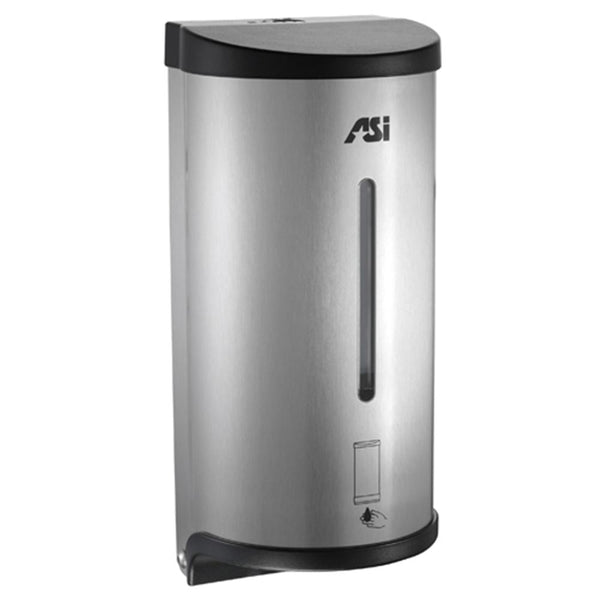 ASI 0362 Automatic Soap & Hand Sanitizer Dispenser 30 oz. Gel Surface Mounted - Satin - Prestige Distribution