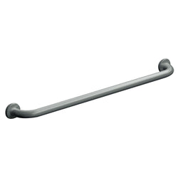 "ASI 3801-18 Grab Bar Straight Snap Flange 18"" - Satin"