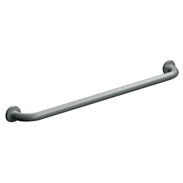 "ASI 3801-18 Grab Bar Straight Snap Flange 18"" - Satin - Prestige Distribution"