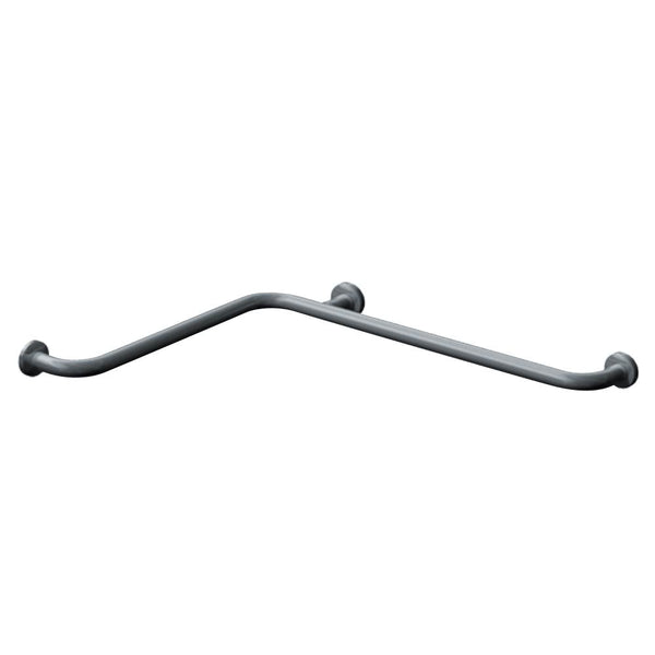 "ASI 3850 Grab Bar Horizontal Snap Flange 24"" x 36"" - Satin"