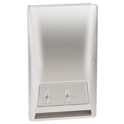 Bradley 4A20-11 Diplomat Sanitary Napkin & Tampon Dispenser Surface Mounted - Satin