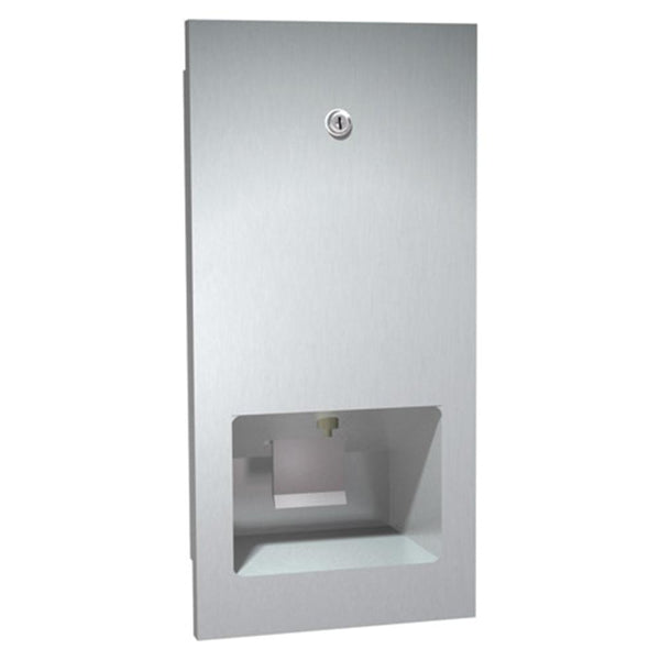 ASI 5002 Disposable Cartridge Soap Dispenser Recessed - Satin