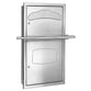 Bradley Combi Unit Semi-Recessed Seat Cover/Napkin Disposal