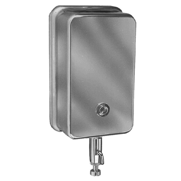 Bradley 655-0000 Soap Dispenser 40 oz. Liquid Surface Mounted - Satin