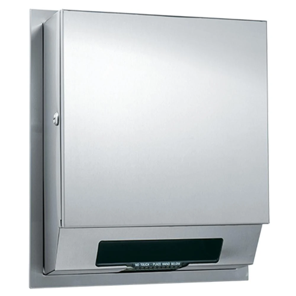 ASI 68523A Simplicity Automatic Roll Paper Towel Dispenser Surface Mounted - Satin