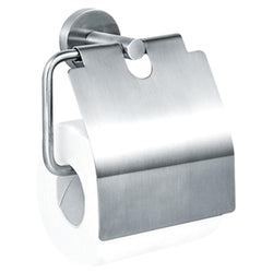 ASI 7314-H Omara Toilet Paper Roll Holder w/ Hood Surface Mounted - Satin