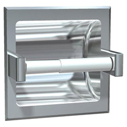 ASI 7402 Toilet Paper Holder Single Wet Wall Lugs Recessed