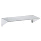 Bradley 755 Bradex Shelf w/ Integral End Bracket Surface Mounted - Satin