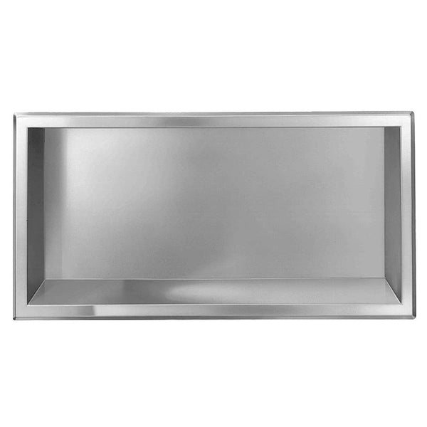 Bradley 760-0000 Shelf Recessed - Satin