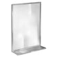 Bradley 7815-02436 Bradex Mirror w/Shelf Channel Framed Surface Mounted - Bright
