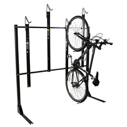 Bike Fixation 804 Vertical Rack 4 Bike Single Sided - Powder Coat