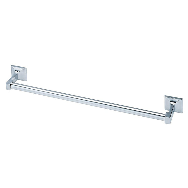 Bradley 927 Bradex Towel Bar Square - Polished Chrome