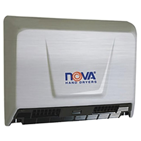 World Dryer 93079000 NOVA 2 Automatic Hand Dryer Stainless Steel Surface Mounted - Brushed