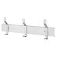 "Bradley 9943-000 Bradex Hat and Coat Rack w/ 3 Hook 24"" - Satin"
