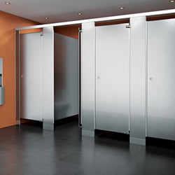 ASI Accurate Toilet Partitions - Stainless Steel
