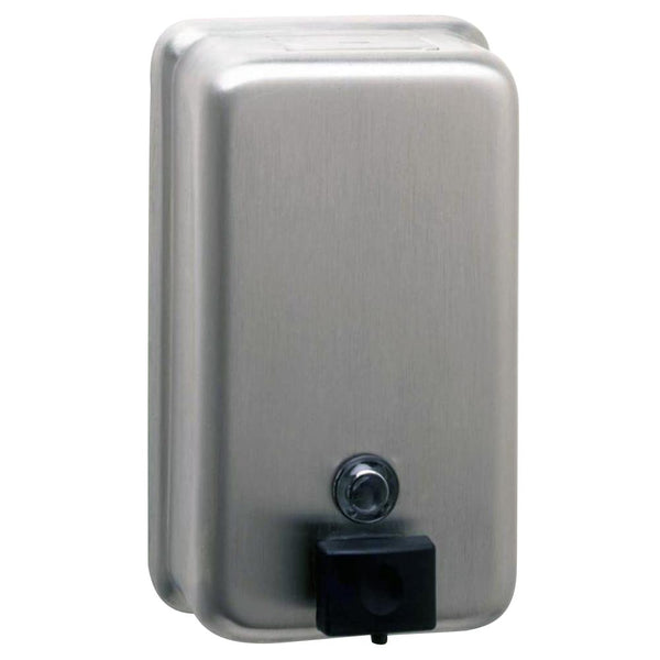 Bobrick B2111 ClassicSeries Soap Dispenser Vertical Surface Mounted - Satin