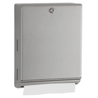 Bobrick B262 ClassicSeries Paper Towel Dispenser Surface Mounted - Satin