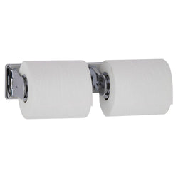 Bobrick B265 ClassicSeries Toilet Paper Dispenser Double Roll w/ Controlled Delivery Surface Mounted - Bright Polish