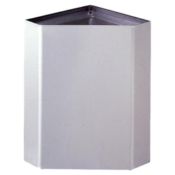 Bobrick B268 Waste Receptacle 13.4 Gal. Surface Mounted - Satin