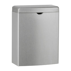 Bobrick B270 ConturaSeries Sanitary Napkin Disposal 1 Gal. Surface Mounted - Satin