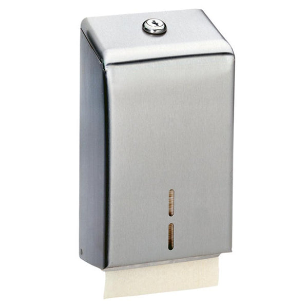 Bobrick B272 Toilet Paper Cabinet Surface Mounted - Satin