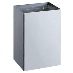Bobrick B275 Waste Receptacle 20 Gal. Surface Mounted - Satin