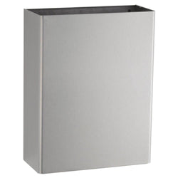 Bobrick B279 ClassicSeries Waste Receptacle 6.4 Gal. Surface Mounted - Satin