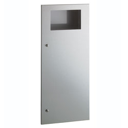 Bobrick B35643 TrimLineSeries Waste Receptacle 12 Gal. Recessed - Satin