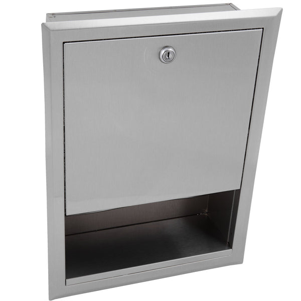 Bobrick B359 ClassicSeries Paper Towel Dispenser Recessed - Satin