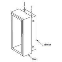 "Bobrick B38032-57 2"" Skirt for Semi Recessed Mount"