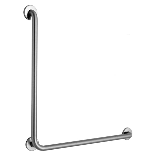 "Bobrick B5898 Grab Bar L-Shape 30"" - Satin"