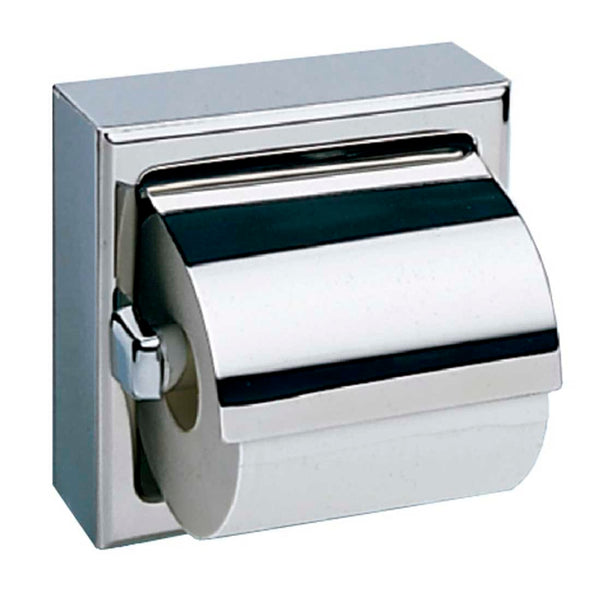 Bobrick B669 Toilet Paper Dispenser w/ Hood Single Roll Surface Mounted