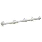 Bobrick B980616 Grab Bar w/ Reinforced Flanges Vinyl-Coated Bariatric