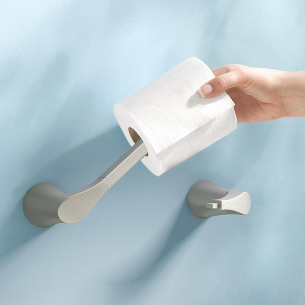 Moen BH2908 Danika Toilet Paper Holder Pivoting