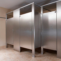 Bradley Toilet Partitions - Stainless Steel