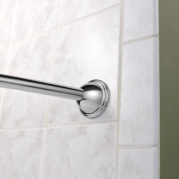 "Moen CSR2160 Shower Rod Adjustable Curved 60"" - 72"" - Prestige Distribution"