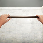 "Moen CSR2172BN Shower Rod Adjustable Curved 60"" - Prestige Distribution"