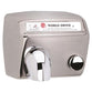 World Dryer DA548-973CE Model A Series Push Button Hand Dryer Stainless Steel Surface Mounted - Brushed