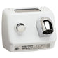 World Dryer DB-974CU AirStyle Model B Series Push Button Hand Dryer Steel Surface Mounted - White