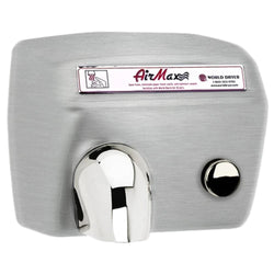 World Dryer AirMax DM Surface Mounted Hand Dryer - Push Button