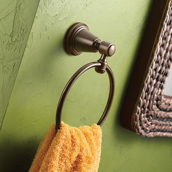 Moen DN3686ORB Bradshaw Towel Ring - Oil Rubbed Bronze - Prestige Distribution
