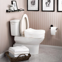 Moen DN7020 Home Care Safety Toilet Seat Elevated - Glacier