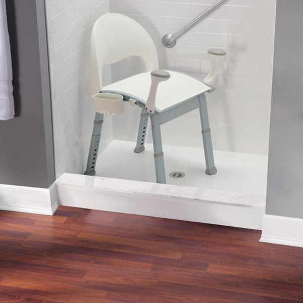 Moen DN7100 Home Care Shower Chair Polypropylene Freestanding - Glacier