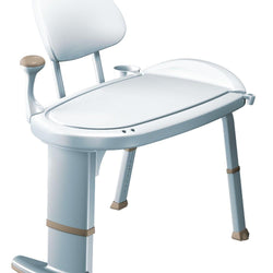 Moen DN7105 Home Care Transfer Bench Premium Freestanding - Glacier