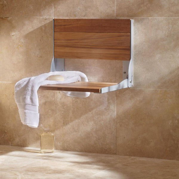 Moen DN7110 Home Care Shower Seat Folding Wall Mounted